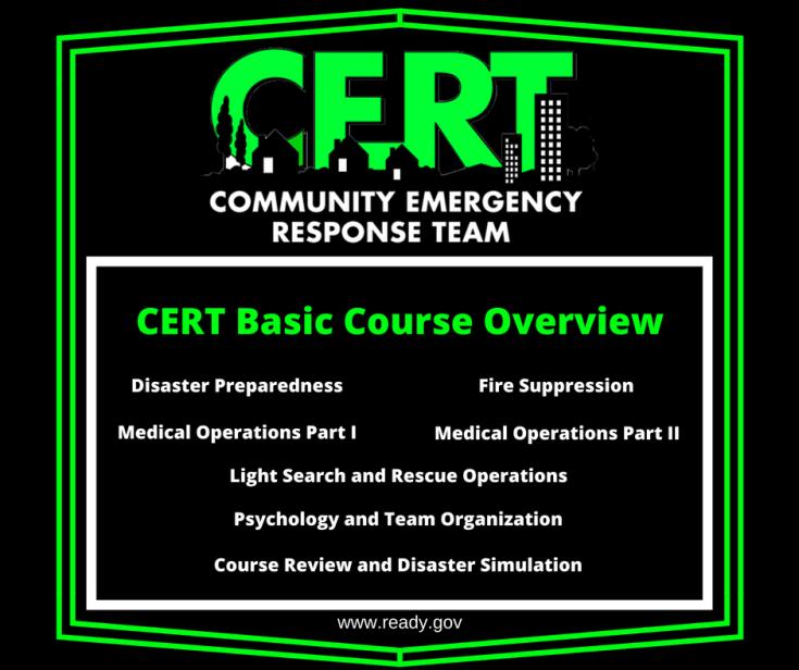 CERT Basic Course